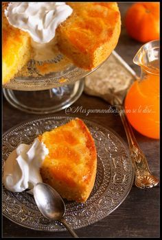 Soft with clementines. Lemon Desserts, Easy Desserts, Dessert Recipes, Dessert Ideas, Orange Recipes, Sweet Recipes, Clementine Recipes, Clementine Cake, Best Party Food
