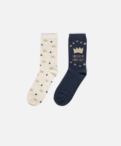 Crown Socks #oysho #socks