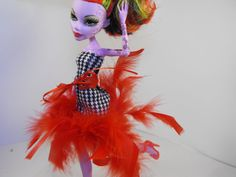 Haute Houndstooth Dress for Monster High by FreakGearbyHM on Etsy, $12.00