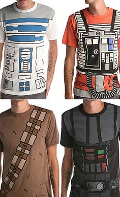 Star Wars Tees.