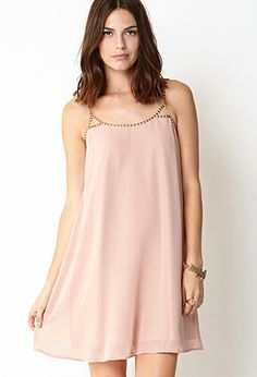 Beaded Shift Dress | FOREVER21 - 2060749043