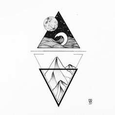 I was listening to Hot Water Music and Chuck Ragan when I drew this. It was good for the soul :) #illustration #illustrator #design #sketch #drawing #ink #tattoo #draw #tattoodesign #linework #dotwork #blackwork #blackworkers #blackandwhite #art #artwork #artist #artistic #instaart #minimal #geometry #mountains #landscape #ocean #sea #moon #night #abstract #evasvartur #instafollow