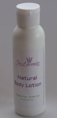 Natural Lavender Body Lotion - Mini size Lavender Hand Lotion Lavender Body Lotion Lavender farm lotion
