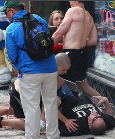 Photos From The Scene Of The Boston Marathon Explosion (Extremely Graphic) Boston Marathon 2013, Boston Marathon Bombing, Nbc News, In Boston, Muslim Women, First Photo, Women Wear, Scene, Explosions