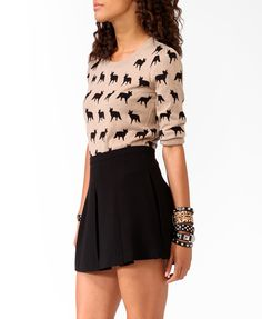 This is my new sweater and I heart it so much  Fox sweater - Forever 21.