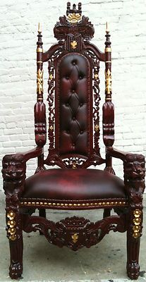 Ebay Lion Head King Chair II