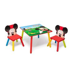 Delta Childrens Disney - Mickey Mouse MUSICAL TABLE & 1 CHAIR at ...