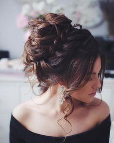 Coiffure de mariage, chignon, coiffure de fête