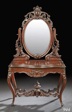 Victorian Rococo Furniture   Alexander Roux duchesse Rococo Revival Duchesse Top Victorian Lot