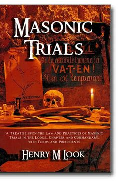 Masonic Trials. This is a useful and comprehensive handbook on the subject of Masonic trials in Lodges, Chapters and Commandaries. This informative and authoritative work also provides numerous sample forms and explores, in detail, all aspects of Masonic trial and its consequences. http://www.cornerstonepublishers.com/masonic-books/masonic-trials