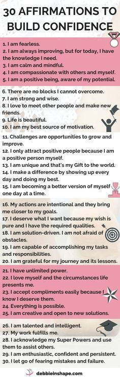 Success Motivation Work Quotes : 30 affirmations to help you overcome fearing mistakes get unstuck and become mo Affirmations Positives, Daily Affirmations, Affirmations Confidence, Affirmations For Women, Positive Affirmations For Kids, Miracle Morning Affirmations, Healthy Affirmations, Self Esteem Affirmations, Motivational Affirmations