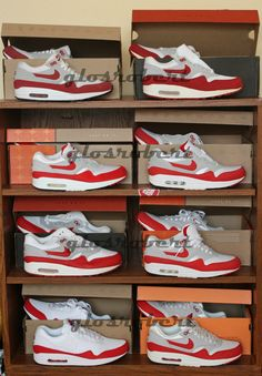 best service 3cae2 4a168 Nike Air Max 1 OG Red 8 Generations of Retros Air Max 1 Og, Fresh