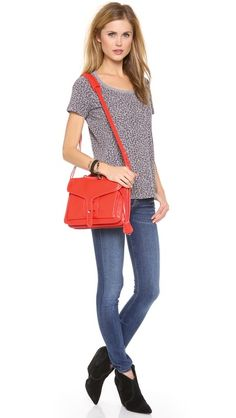 How to: fall's red purse. Opening ceremony OC NY Bag.