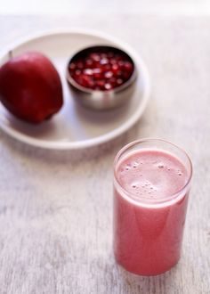 apple pomegranate juice recipe, how to make apple pomegranate juice recipe