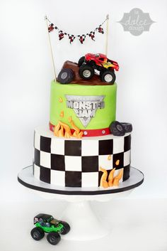 Monster Jam cake  from La Dolce Dough www.LaDolceDough.com