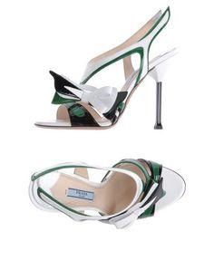 Sandali con tacco Prada Donna - Acquista online su YOOX