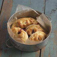 These mixed berry hand pies from Driscoll's are easy to make and can be assembled and refrigerated a couple hours before baking.