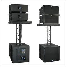 Bluetooth speaker 10 inch line array speaker active