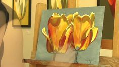 Tulips Painting Timelapse - YouTube