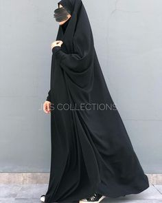 For the flaws that keep me humble and the sins that keep me repenting. In frame : French Abaya in Black Material : Lightweight Fine jetblack So flowy its ironless # Abaya Fashion, Modest Fashion, Muslim Beauty, Outfit Look, Islamic Clothing, Alhamdulillah, Modest Outfits, Flaws, How To Wear