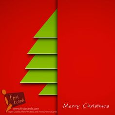 Merry Christmas — A Free Online Greeting eCards from FirstEcards.com