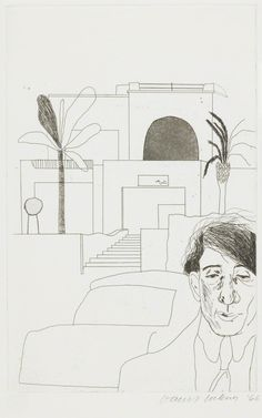 David Hockney, 'Portrait of Cavafy II', 1966