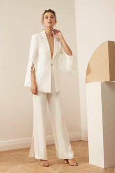 HAVE IT ALL BLAZER ivory