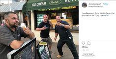 14 July: Ice cream priorities Eddie Izzard, James D'arcy, Finishing School, Judi Dench, Priorities, Ice Cream, Day, No Churn Ice Cream, Gelato
