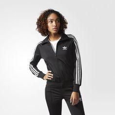 Chamarra Deportiva Originas Firebird Mujer - Negro