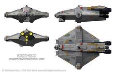 VCX-100 Ghost by Ravendeviant.deviantart.com on @DeviantArt