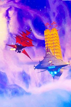 Treasure Planet, pirate attack on a cruise liner. Disney Pixar, Disney Ships, Disney Animation, Disney And Dreamworks, Disney Art, Disney Movies, Crossover, Disney Treasures, Treasure Planet