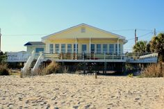 Edisto Beach Vacation Rental - VRBO 14803 - 4 BR Charleston Area House in SC, Oceanfront! Mary's Dream; 4 Bedroom 2 Baths!