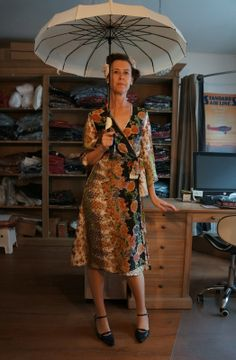 Kimono jurk 1930 | Jurkjes | Misspoppywear, retro boetiek