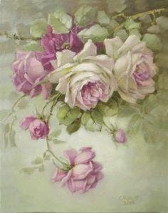Beautiful roses Rose Vintage, Floral Vintage, Vintage Flowers, Decoupage Art, Decoupage Vintage, China Painting, Rose Art, Arte Floral, Art Plastique