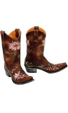 Old Gringo Ellie L575-6 Womens Brass Brown Boots.