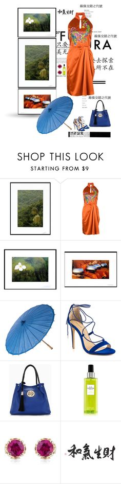 """""""be silent"""" by silver-sun ❤ liked on Polyvore featuring NOVICA, Hedi Slimane, Chinese Laundry and Theo Fennell"""