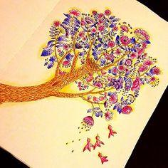 @sztuka_kolorowania #sztukakolorowania #wyspy #kolorowanka #kolorowankidladoroslych #mondeluz72 #kohinoor #mondeluzpencils #coloring #coloringbook #coloringbookforadults #tree #birds #summertree #anitagraboś @anitagrabos