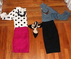 Work Wear // Skirt Looks