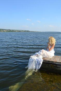 beauty and the blue sea