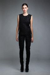 Taylor 'Follow the line' collection, Winter 2013 www.taylorboutique.co.nz Overlay Squiggle Top