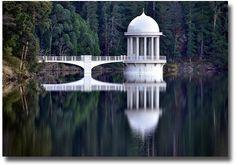 Maroondah Dam -Water Tower-Melbourne, Australia compliments of http://www.flickr.com/photos/chrissamuel/7430328892/