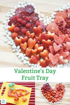 A delicious way to show your love! Share your love with this heart shaped Valentine fruit tray idea. A delicious healthy Valentine treat. Valentines Day Food, Valentine Treats, Valentine's Day Drinks, Strawberry Pop Tart, Heart Shaped Cookie Cutter, Cooking With Kids, Cooking Tips, Healthy Cooking, Healthy Eating
