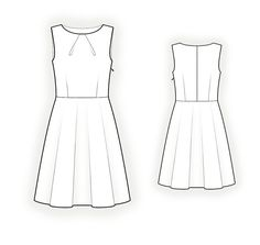 Sleeveless Dress  -