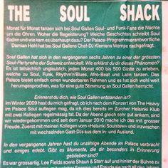 Herr Wempe a/k/a DJ Soulsonic: SOUL GALLEN - The Soul Shack