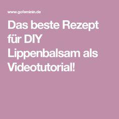 Das beste Rezept für DIY Lippenbalsam als Videotutorial! Maybelline, Kids Bathroom Accessories, Flower Drawing Images, Diy Lip Balm, Anti Ride, Lilac Hair, Diy Beauty, The Balm, About Me Blog
