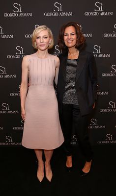 Cate Blanchett joined Roberta Armani and the Sì Women s Circle yesterday  for the Sì Gathering Day 7a79c88c6d3