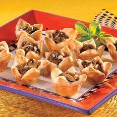 Puff Pastry Cup Appetizer Recipes | Pepperidge Farm® Puff Pastry - Recipe Detail - Basil-Mushroom ...