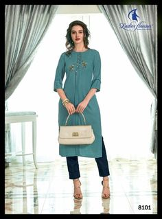 Mayra by Ladies Flavours Rayon Straight Readymade Kurtis with Pants at Wholesale Rate - Tathastu Wholesale Please Comment, Like, or Re-Pin for later 😍💞 kurti ladies, indian cloth store near me, lehenga for women latest design, embroidered lehenga choli, indian clothes stores, anarkali dress latest design, engagement dress for bride online, india lehenga, bridal collection online, indian wear women, shadi collection dress Kurtis With Pants, Latest Kurti, Anarkali Dress, Lehenga Choli, Indian Clothes, Indian Outfits, Bridal Collection, Dress Collection, Casual Wear