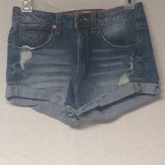 Jeans shorts! Cute for summer! Mudd Shorts Jean Shorts