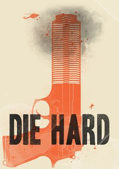 Die Hard Art Print by Wharton.